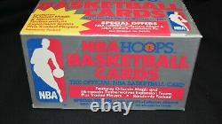 1989-90 Hoops Series 2 Update Basketball Box from Factory Sealed Case