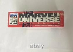1993 Marvel Universe Trading Cards Series 4 IV Skybox Factory Sealed 36 Pack