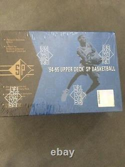 1994-95 UPPER DECK SP BASKETBALL FACTORY SEALED BOX, Out Of Fresh Sealed Case