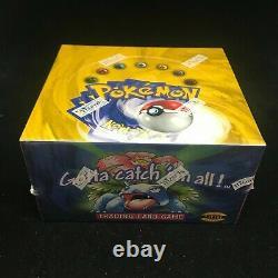 1999 Pokemon Base Set Booster Box Factory Sealed