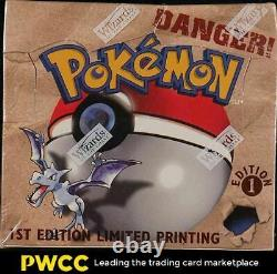 1999 Pokemon Fossil 1st Edition Factory Sealed Booster Box, Lapras Dragonite