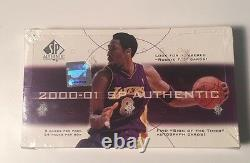 2000-01 Upper Deck SP Authentic Basketball Hobby Box Factory Sealed 24 Pack