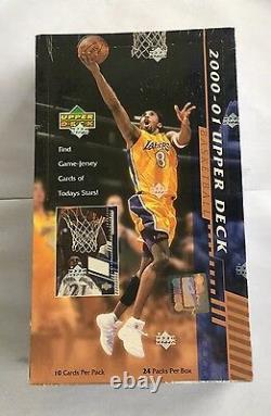2000-01 Upper Deck Series 1 Basketball Hobby Box Factory Sealed 24 Pack