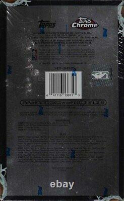 2003-04 Topps Chrome Factory Sealed Hobby Box, 24ct Packs, LeBron James Wade RC