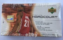 2003-04 Upper Deck HardCourt Basketball Hobby Box Factory Sealed
