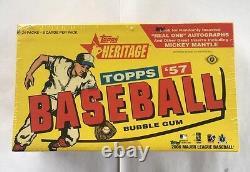 2006 Topps Heritage Baseball Hobby Box Factory Sealed 24 Pack FASC