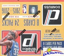 2015/16 Donruss Basketball MASSIVE Factory Sealed 24 Pack Retail Box-192 Cards