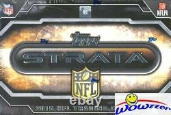 2015 Topps STRATA Football Factory Sealed HOBBY Box-(2) ON-CARD AUTOGRAPHS