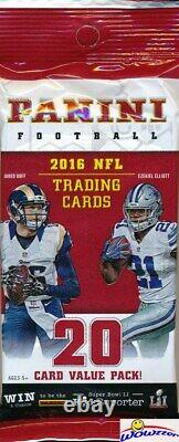 2016 Panini Football EXCLUSIVE Factory Sealed HUGE JUMBO FAT Pack Box-240 Cards