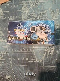 2016 Pokemon XY Evolutions Booster Box Factory Sealed