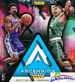 2017/18 Panini Ascension Basketball Factory Sealed HOBBY Box-1 AUTO+4 ROOKIES+