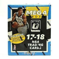 2017-18 Panini Donruss Optic Basketball Factory Sealed Mega Box 40 Card/box Sale