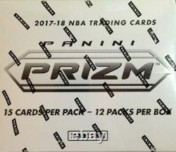 2017-18 Panini Prizm Basketball Factory Sealed Cello Box
