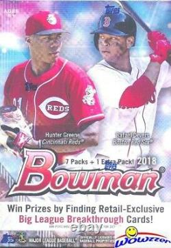 2018 Bowman Baseball EXCLUSIVE HUGE Factory Sealed Blaster Box-88 Cards