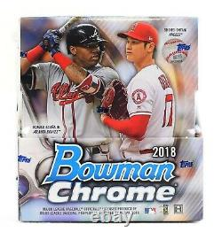 2018 Bowman Chrome Baseball Factory Sealed Hobby Box