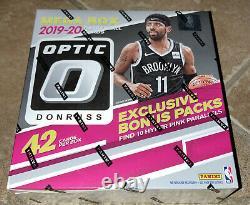 2019-20 NBA Donruss Optic Panini Basketball Cards MEGA BOX Factory Sealed Prizm