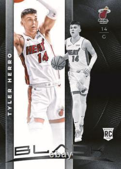 2019-20 Panini Black Basketball NBA Hobby Box Factory Sealed Basketball Cards