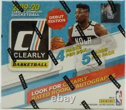 2019/20 Panini Clearly Donruss Basketball Hobby Factory Sealed Box