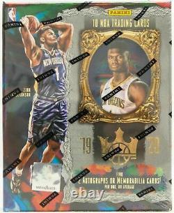 2019/20 Panini Court Kings Basketball Factory Sealed Hobby Box Morant Zion Rc