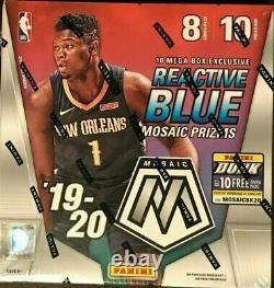 2019-20 Panini Mosaic NBA Basketball MEGA Box Factory Sealed