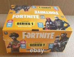 2019 Panini Fortnite Series One 1 Yellow Jumbo Fat Pack Box Factory Sealed