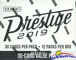 2019 Panini Prestige Football MASSIVE Factory Sealed JUMBO FAT PACK Box-360 Card