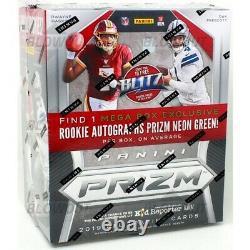 2019 Panini Prizm Football Mega Box (factory Sealed)