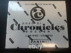 2020-21 Panini Chronicles Soccer Cello Box Factory Sealed