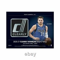 2020-21 Panini Clearly Donruss Basketball Hobby Box Factory Sealed NEW