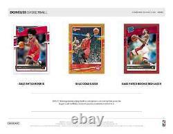 2020-21 Panini Donruss Basketball Hobby Box Factory Sealed New Free Shipping