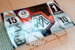 2020-21 Panini Mosaic UEFA Euro Soccer Hobby Box Factory Sealed Euro Cup 2020