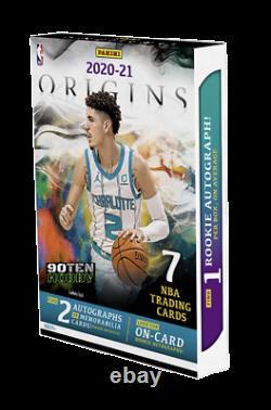 2020-21 Panini Origins Basketball Factory Sealed Hobby Box