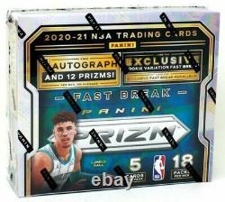 2020/21 Panini Prizm Basketball Fast Break Factory Sealed Box