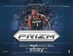2020-21 Panini Prizm Basketball Hobby Box Factory Sealed New Free Shipping