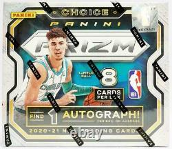 2020-21 Panini Prizm Choice Basketball Factory Sealed Hobby Box