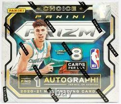 2020-21 Panini Prizm Choice Basketball Factory Sealed Hobby Box-Ball, Edwards