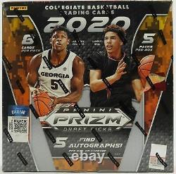 2020-21 Panini Prizm Draft Picks Basketball Factory Sealed Hobby Box