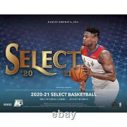 2020-21 Panini Select Basketball Hobby FACTORY SEALED HOBBY BOX HYBRID H2