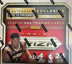 2020/21 Prizm Basketball 24pk Retail Box Factory Sealed 1 Auto Per Box