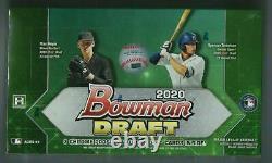 2020 BOWMAN DRAFT Baseball JUMBO HOBBY Box Factory Sealed