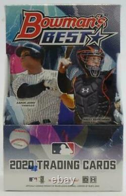 2020 Bowman's Best Baseball Factory Sealed Hobby Box