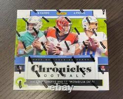 2020 Panini Chronicles NFL Football Factory Sealed Hobby Box Auto, Prizm, Brady