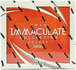 2020 Panini Immaculate Soccer Factory Sealed Hobby Box