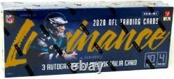 2020 Panini Luminance Football Factory Sealed Hobby Box