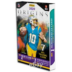 2020 Panini Origins Football Hobby Box Factory Sealed In Stock Free Shipping