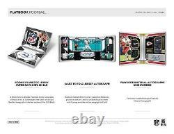2020 Panini Playbook Football Factory Sealed Hobby Box