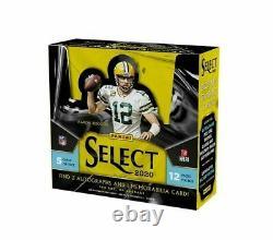 2020 Panini Select Football Factory Sealed Hobby Box