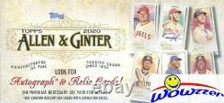 2020 Topps Allen & Ginter Baseball MASSIVE Factory Sealed 24 Pack Retail Box
