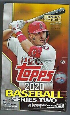2020 Topps Series 2 Baseball Hobby Box 24 Packs + 1 Silver Pack FACTORY SEALED
