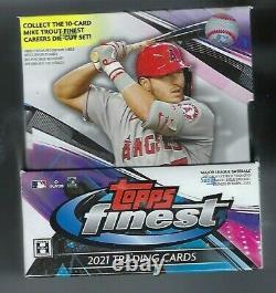 2021 Topps Finest Baseball Hobby Factory Sealed Box